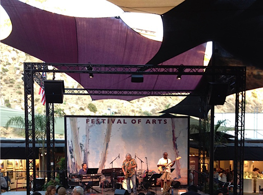 Terje Lie at Festival of the Arts - Pageant of the Masters, Laguna Beach, California